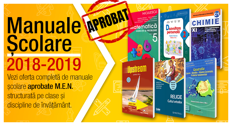 Oferta manuale scolare 2018-2019