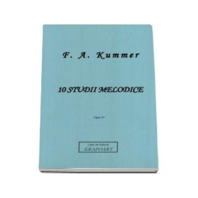 10 studii melodice pentru violoncel - F. A. Kummer (Opus 57)