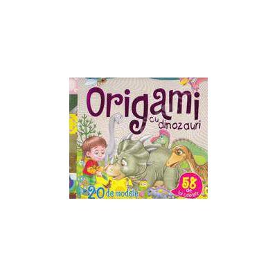 20 de modele de origami cu dinozauri