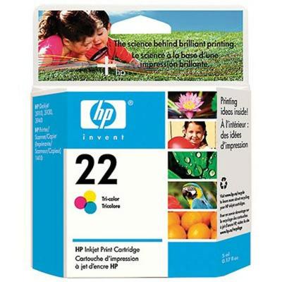 22 Cartus cerneala color HP PSC 1410/DJ3940/3944/3920