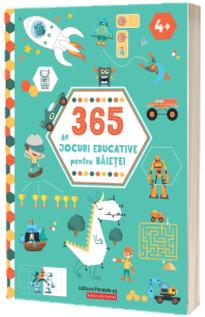 365 de jocuri educative pentru baietei (4 ani  )