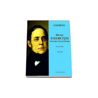 50 de exercitii pentru incepatori pentru pian opus 481 - Czerny Carl