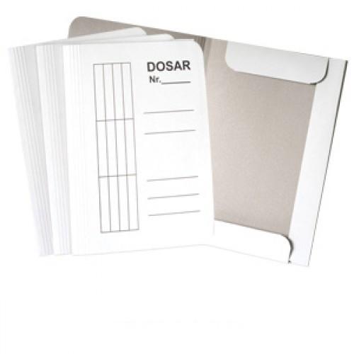 Dosar carton alb duplex 230g, plic