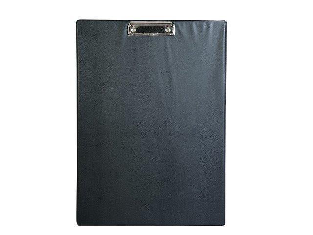 Clipboard simplu A3 - portrait negru, plastifiat PVC, Alco
