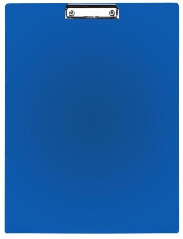 Clipboard simplu A3 - portrait albastru, plastifiat PVC, Alco
