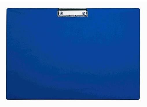 Clipboard simplu A3 - landscape albastru, plastifiat PVC, Alco