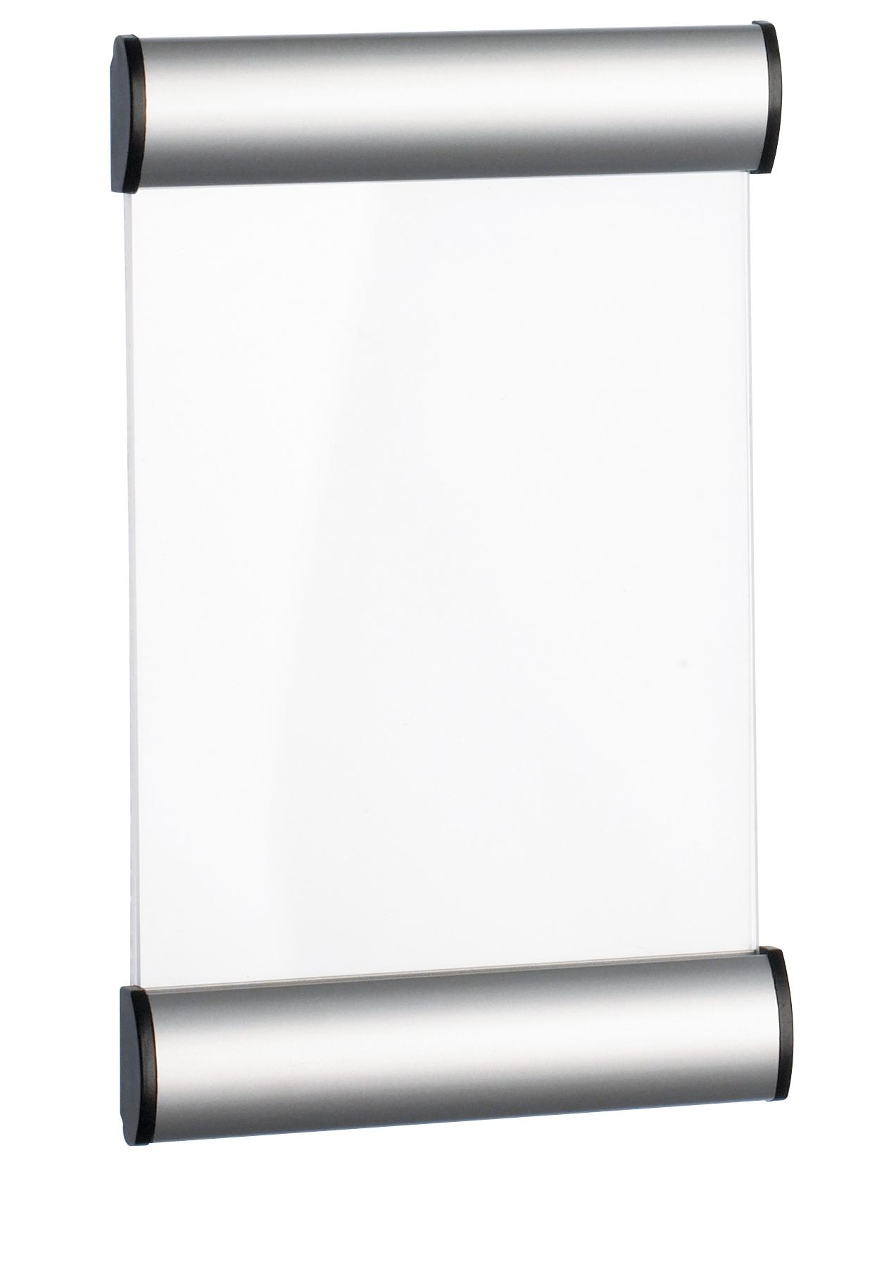 Suport metalic pentru nume, pentru semnalizare usa, 18 x 11 cm, Alco