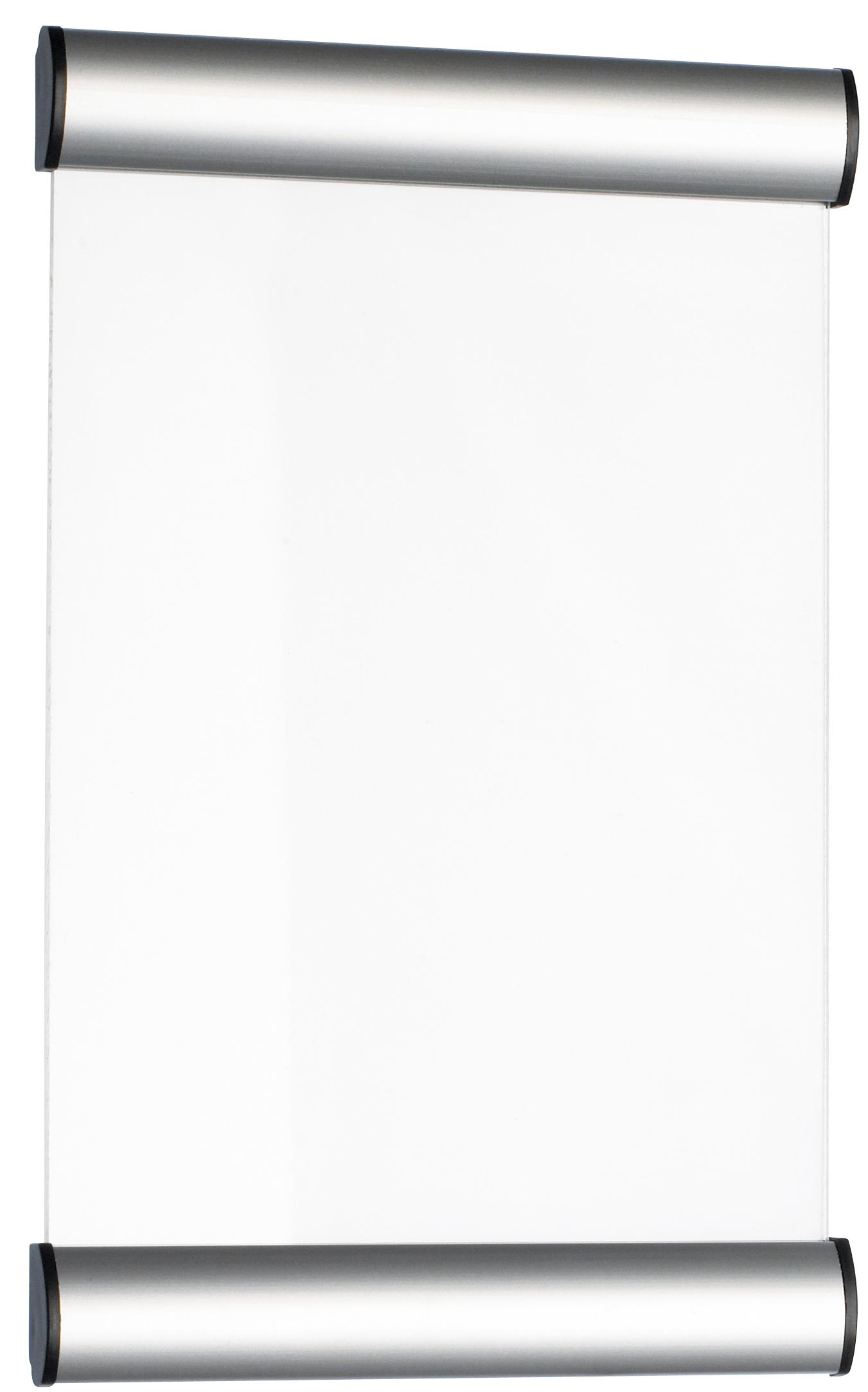 Suport metalic pentru nume, pentru semnalizare usa, 24 x 15 cm, Alco