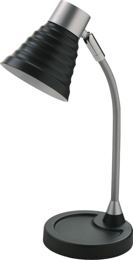 Lampa de birou, max.40W, ALCO - negru/argintiu