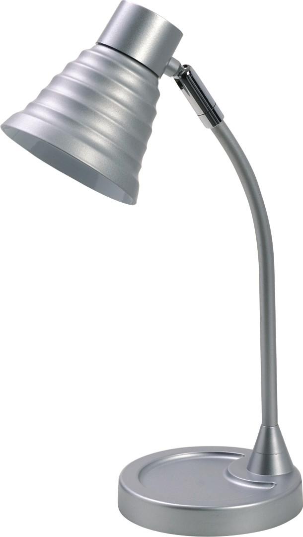 Lampa de birou, max.40W, ALCO - argintiu