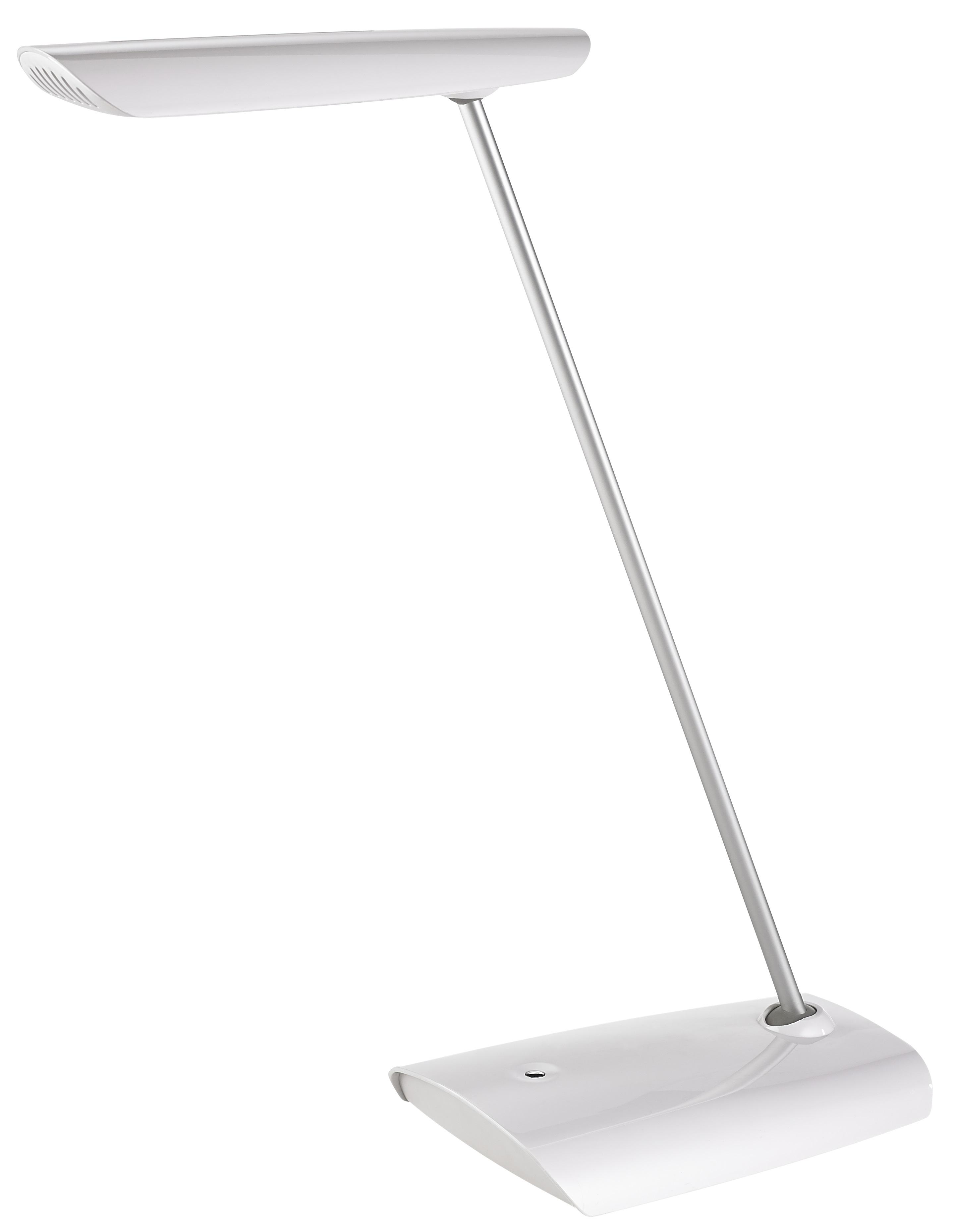 Lampa de birou cu led, 12 x 0.416W, 1600 lux - 40cm, ajustabila, ALCO - alba