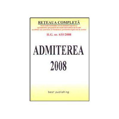 Admiterea 2008. Editia a V-a
