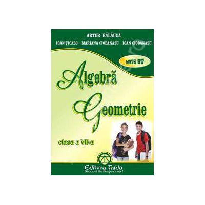 Algebra si Geometrie pentru clasa a VII-a (Auxiliar)