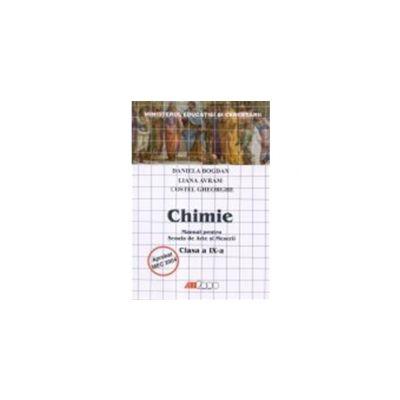 Chimie. Manual pentru scoala de arte si meserii- clasa a IX-a