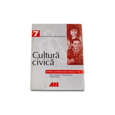 Cultura civica. Ghidul profesorului pentru clasa a VII-a
