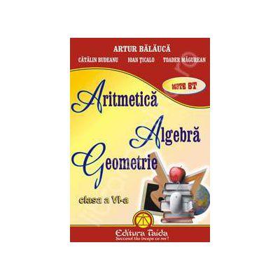 Aritmetica, algebra si geometrie pentru clasa a VI-a (Auxiliar)