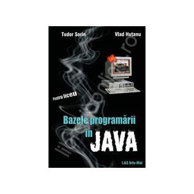 Bazele programarii in Java