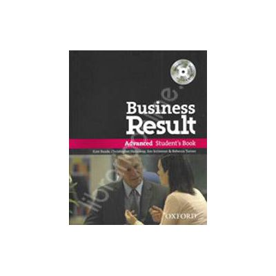 Business Result Advanced Teachers Book with DVD