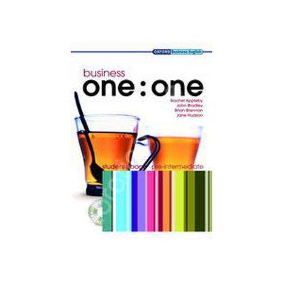 Business one:one Pre-Intermediate Teachers Book