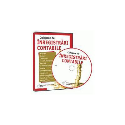 CD - Culegere de inregistrari contabile