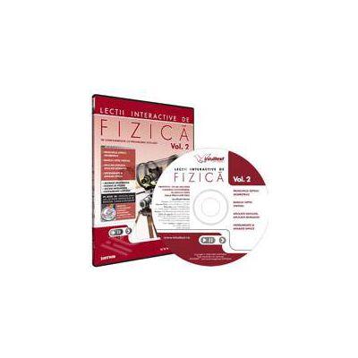 CD, interactiv. Lectii interactive de fizica pentru liceu, Volumul II