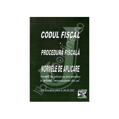 Codul fiscal si procedura fiscala 2012 cu normele de aplicare