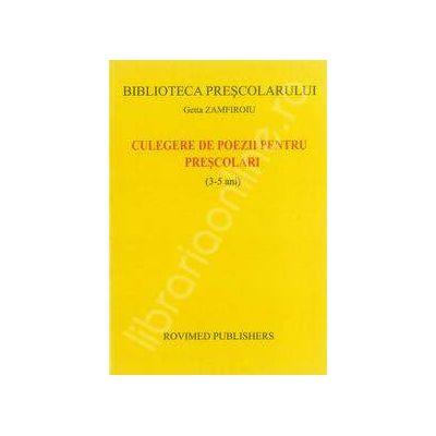 Culegere de poezii pentru prescolari 3-5 ani