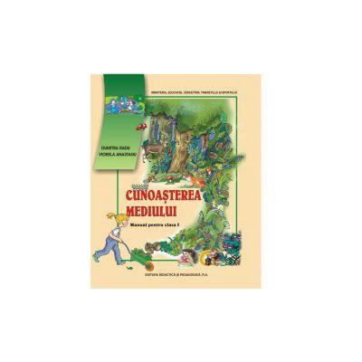 Cunoasterea mediului, manual pentru clasa I (Radu Dumitra)