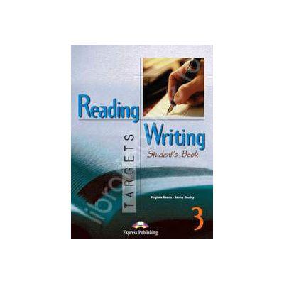 Curs pentru limba engleza. Reading and Writing Targets 3. Manualul elevului clasa a VII-a
