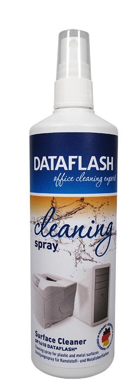 Spray curatare suprafete din plastic, 250ml, DATA FLASH