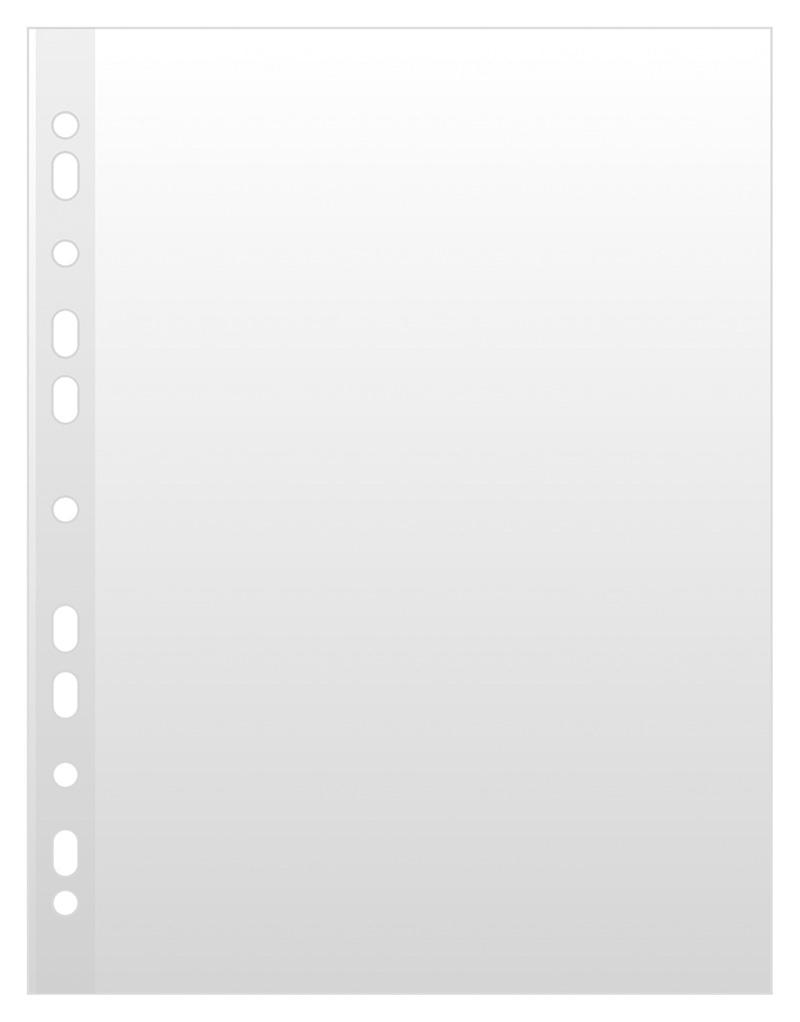 Folie protectie pentru documente,  50 microni, 100 folii/cutie, DONAU - cristal