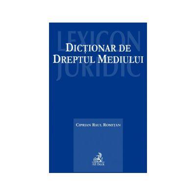 Dictionar de dreptul mediului