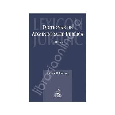 Dictionar de administratie publica