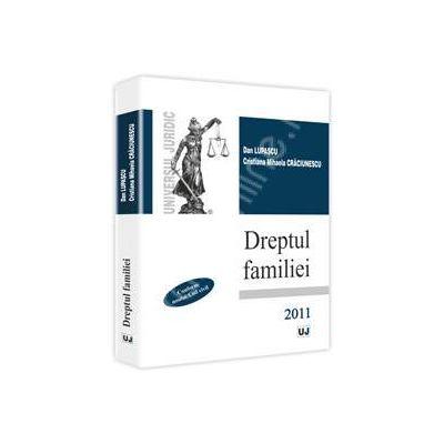 Dreptul familiei 2011