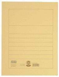 Dosar carton plic ELBA - galben