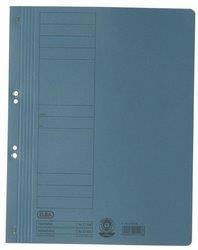 Dosar carton cu capse 1/1  ELBA - albastru