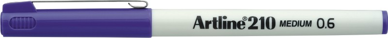Liner Artline 210, varf fetru 0.6mm - mov