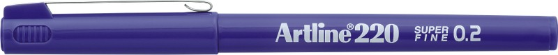 Liner ARTLINE 220, varf fetru 0.2mm - mov
