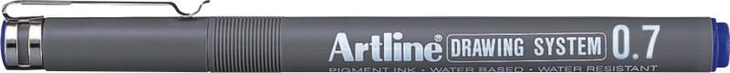 Marker pentru desen tehnic ARTLINE, varf fetru 0.7mm - albastru