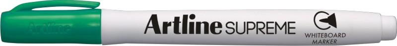 Marker pentru tabla de scris Artline Supreme - Dry safe ink, varf rotund 1.5mm - verde