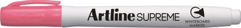 Marker pentru tabla de scris Artline Supreme - Dry safe ink, varf rotund 1.5mm - roz