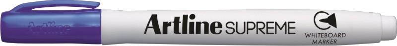 Marker pentru tabla de scris Artline Supreme - Dry safe ink, varf rotund 1.5mm - violet