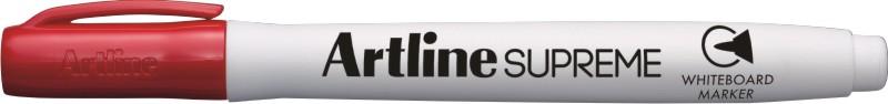 Marker pentru tabla de scris ARTLINE Supreme - Dry safe ink, varf rotund 1.5mm - rosu