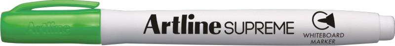 Marker pentru tabla de scris Artline Supreme - Dry safe ink, varf rotund 1.5mm - vernil