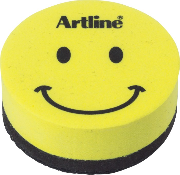 Burete magnetic, pentru table magnetice de scris - Artline Smiley