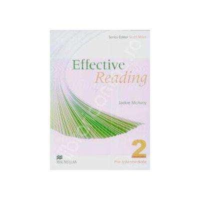 Effective Reading. Pre intermediate 2