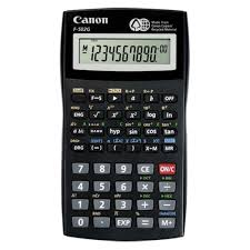 Calculator stiintific, 10+2 digits, 140 functii, baterie CR2032 -CANON