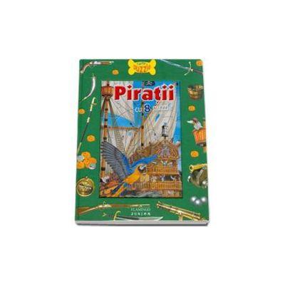 Piratii. Carte cu puzzle (Contine 8 puzzle)