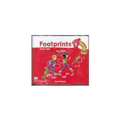 Footprints 1 - Class Audio CDs 3 (Contine 3 cd-uri)