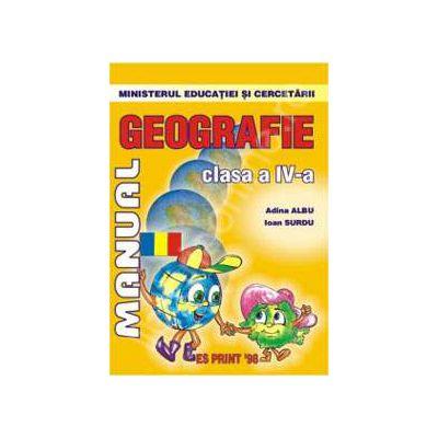 Geografie manual pentru clasa a IV-a